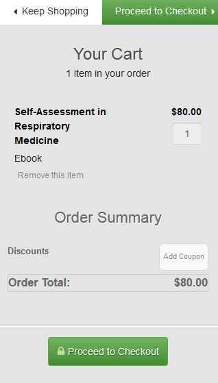 Self-Assessment in cart image